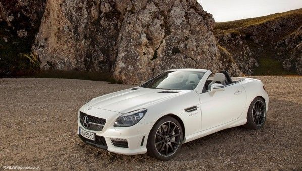 Mercedes Benz SLK55 AMG 2012 PS Vita Wallpaper