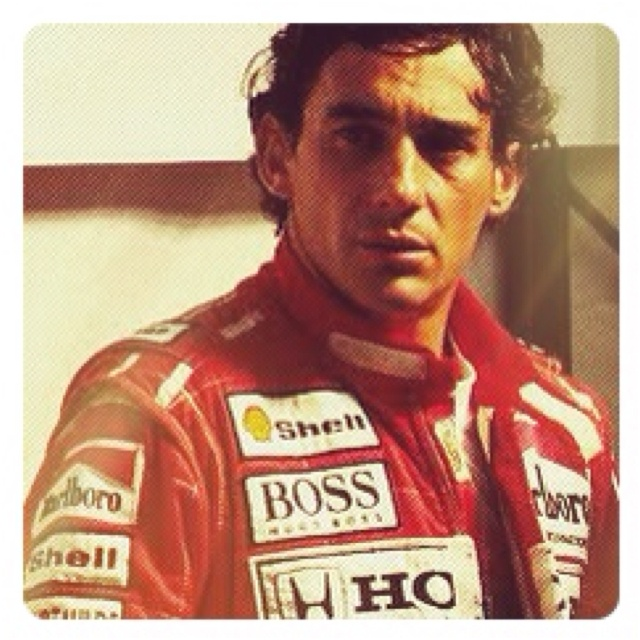 """If you no longer go for a gap that exists, you are no longer a racing driver.""  - Aryton Senna"