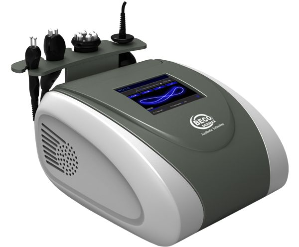 Tecnología de emisión en Radiofrecuencia de última generación, sistema exclusivo por Sonotermia. Emisión dual Radiofrecuencia y Cavitación.