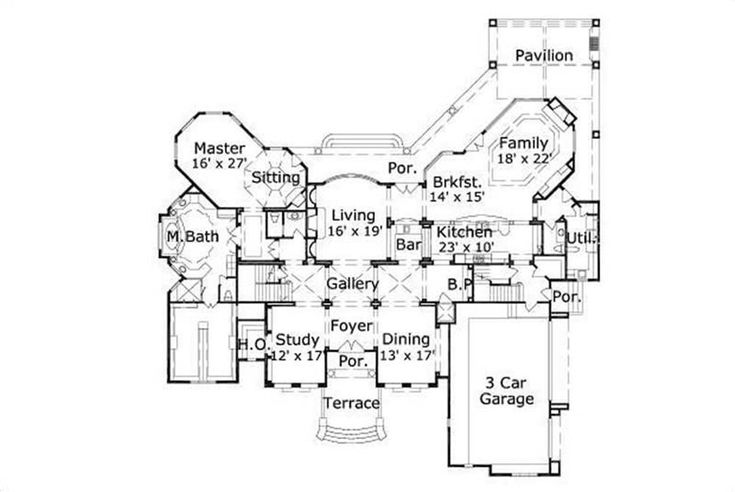 House Plans Ohp 2014 Home Pinterest House Cabin And