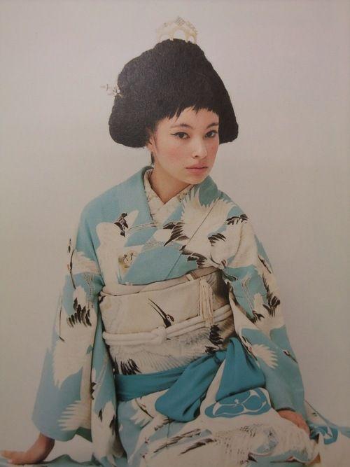 Lina Ohta 私の振袖と似てる…