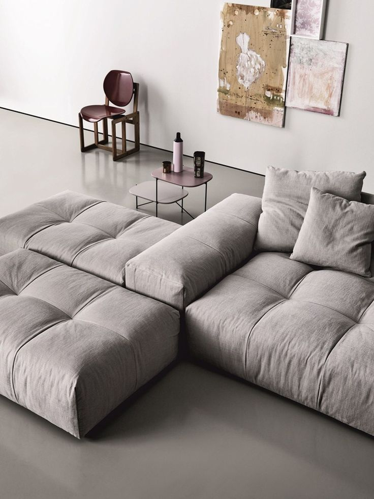 Furniture Interior. Cool Modern Design Modular Sofas For Small Spaces. Wonderful L Shaped Wool Sectional Sofa In White For Small Space With Tufted Upholstered L Shaped Modular Sectional Sofa And Padded Sofa For Small Space. Modular Sofas For Small Spaces