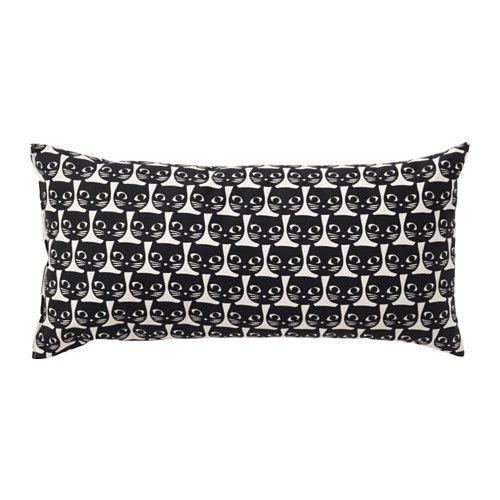 IKEA - MATTRAM, Coussin, , Le garnissage de polyester conserve sa forme tout en offrant au corps un soutien souple.Peut s'utiliser comme appui-tête ou comme coussin lombaire pour plus de confort.