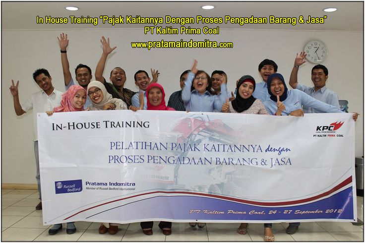 In House Training Pajak
