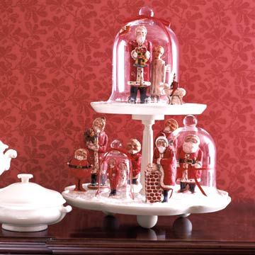 Santa Collectibles On Display Holidays Project Free And Interiors Inside Ideas Interiors design about Everything [magnanprojects.com]