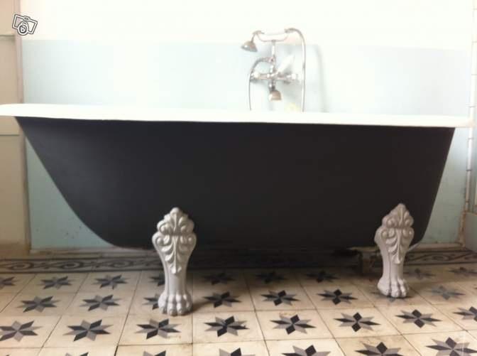 1000 id es propos de baignoire en fonte sur pinterest salle de bains gr - Baignoire patte de lion ...