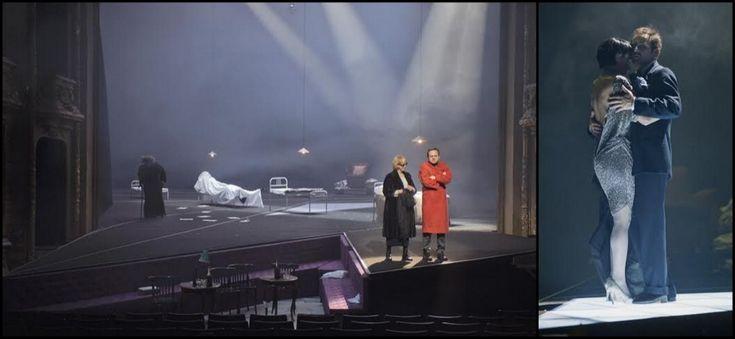 "Horvat's ""Don Juan kommt aus dem Krieg"" dir Luc Bondy, set Karl-Ernst Herrmann, costumes   amere-lasse-séduction"