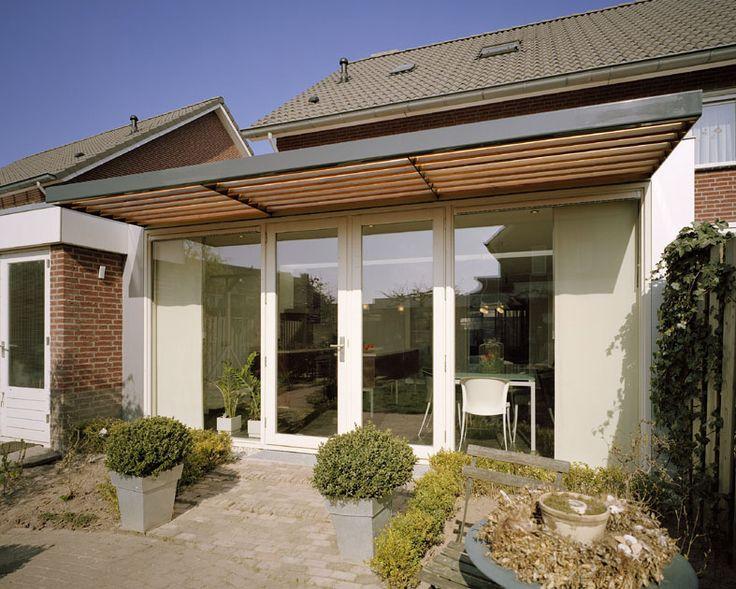Voor de uitbreiding van deze woning stond een verruiming van het eetgedeelte en de keuken - Uitbreiding huis glas ...