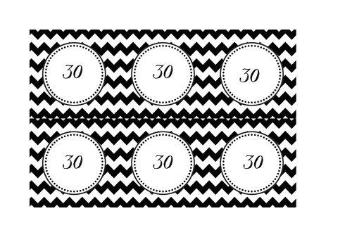black & white party - jak udekorować urodziny dla dorosłych — H O U S E L O V E S