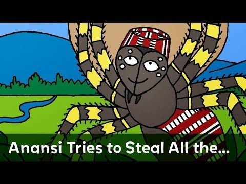 ▶ Folktale: Anansi Tries to Steal All the Wisdom in the World read by Nick Cannon - YouTube