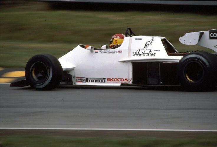 1984 - Brands Hatch - Huub Rothengatter - Spirit 101 Hart 415T 1,5 L4 t