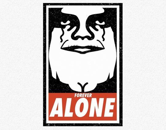 Obey alone by Danny Villarreal
