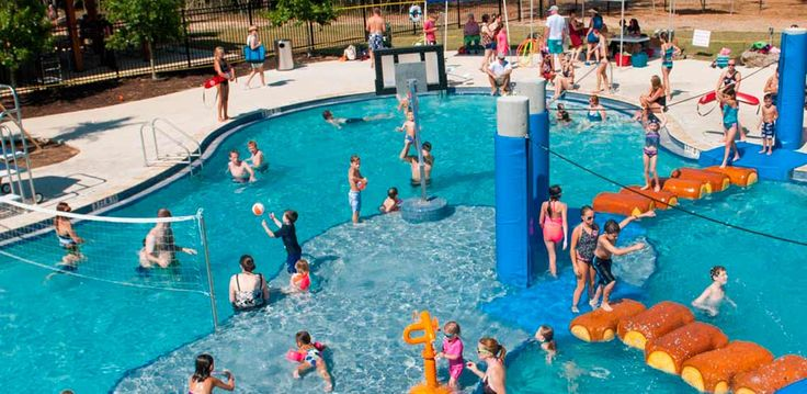 Aquatic Design & Engineering | Projects | Woodforest Amenity Center- Wet Play Structure, Water Park, Houston, Texas