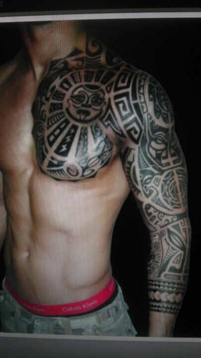 Body Art World Tattoos Maori Tattoo Art And Traditional: Marquesan Tattoos, Tribal Tattoos, Full Arm