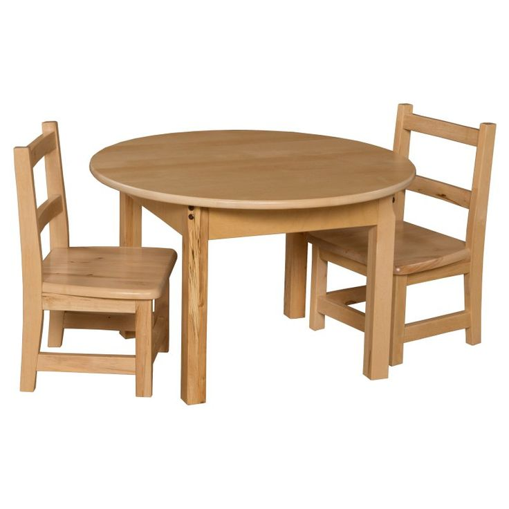 Wood Designs Round Table And Chair Set Wdm256