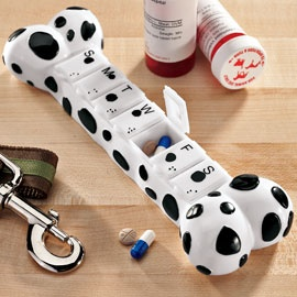 Dog Bone Pill Case | Solutions