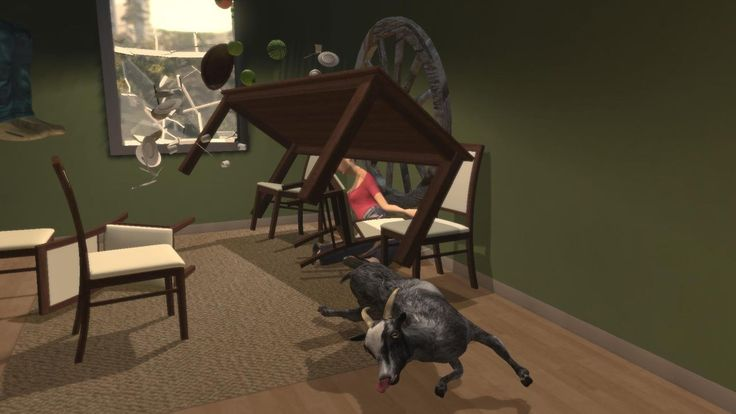 Goat Simulator is going to be a MMO very soon. Goats Vs. Sheep. Which side are you on?