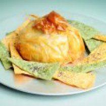 Receta de Queso Brie en Hojaldre con Mermelada de Chabacano