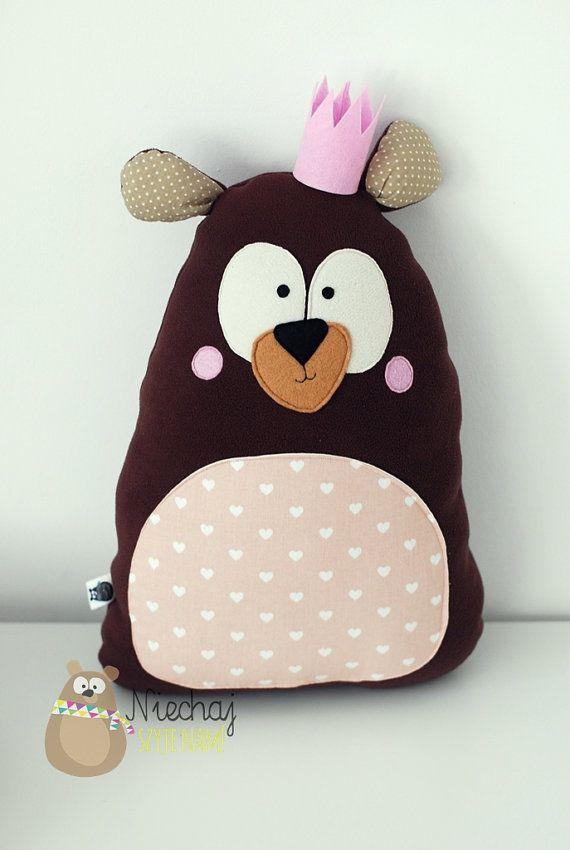 Teddy bear softie soft plush toy for boy by SewManUniverseMaster