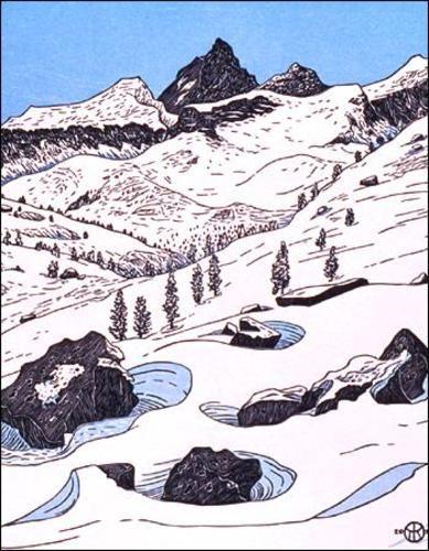 Junction Peak (above Bubbs Creek) ~ Tom Killion