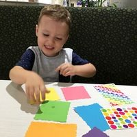 6 activities to keep your little one entertained whilst out to dinner.