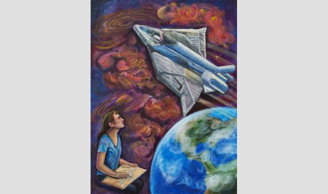 2014 Winner - 3rd Place, Category: Age 15-16 years, Lucille Miao, 3rd Place Pingry School, Basking Ridge, N.J., USA
