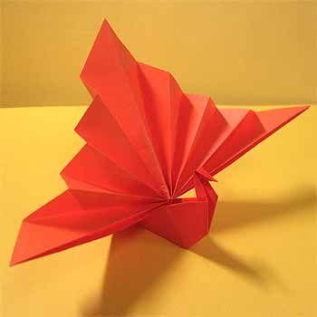 折り紙で祝い鶴の折り方!正月飾りや箸置きに簡単な作り方   セツの折り紙処