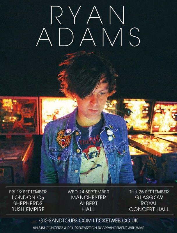 Ryan adams tour dates in Australia