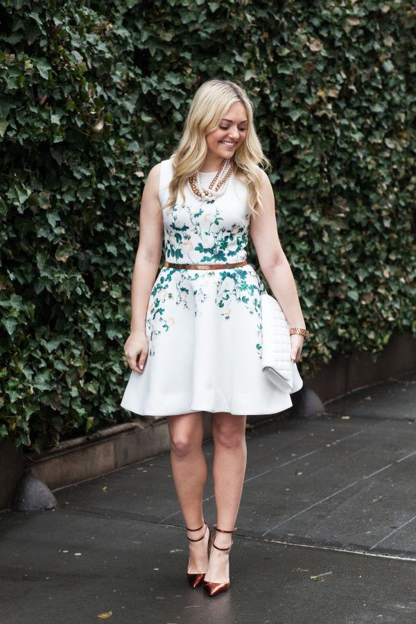Derby Dress // @bowsandsequins