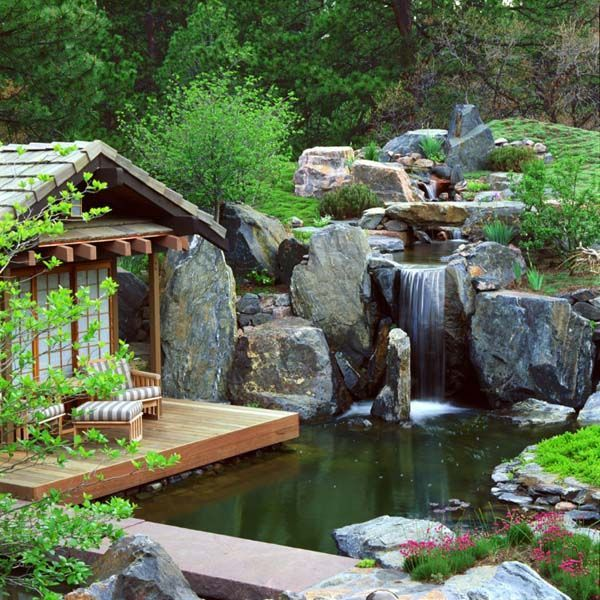 Wonderful 281 Best Garden Ponds, Waterfalls And Features Images On Pinterest | Garden  Ponds, Pond Waterfall And Asian Garden