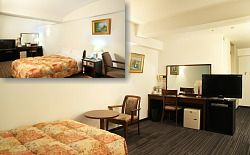 ホテルニュープラザ久留米|シングルルーム|客室のご案内