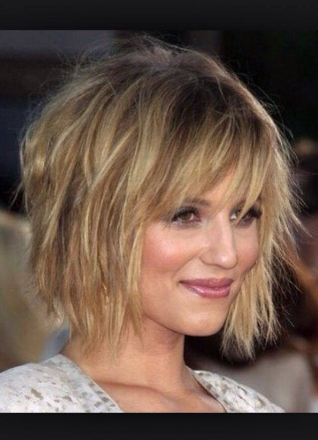 Blonde Short Cut Chic Short Hair Short Layered Bob