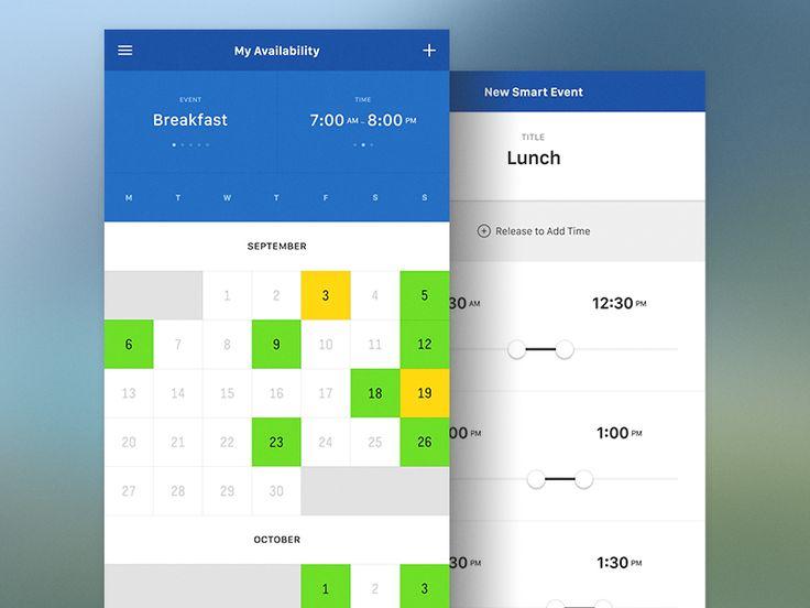 My Availability Calendar - Side by Side by Sixbase (Orange County, CA)