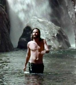Jim Morrison. scene from Jim's HWY. movie.