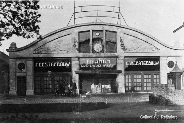 Oude bioscoop Rex - Naarderstraat - Hilversum - voordat het een bioscoop werd