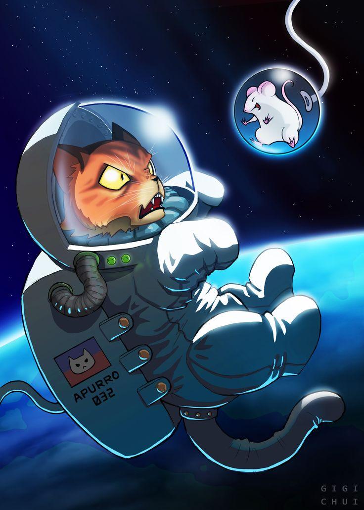 Spacecat and Ratstronaut - Imgur