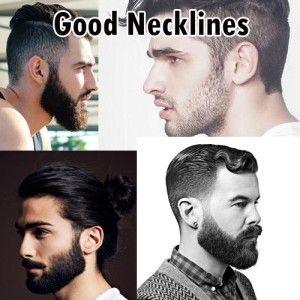 good beard neckline