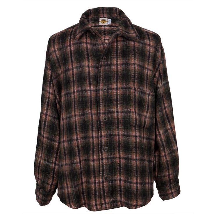 Earth Ragz - Plaid Button Heavyweight Shirt