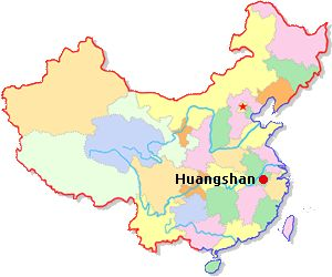 Huangshan City has an area of 9,823 square kilometers and a population of 1.5 million.