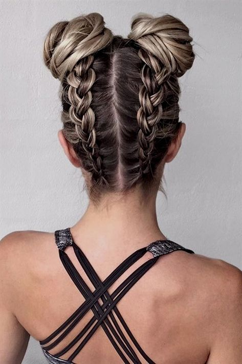 Amazing Braid Hairstyles for Christmas Party and other Holidays ★ See more: #braids