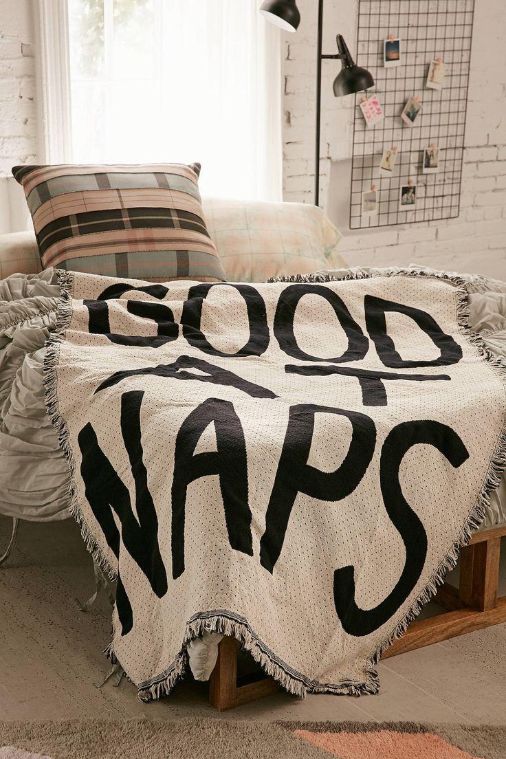 Slide View: 1: Calhoun & Co. Good At Naps Throw Need this!