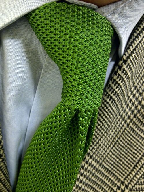 Sometimes it's those simple defining pieces that make you different. The right tie can elevate any look and give you just the right touch of gentleman professionalism.