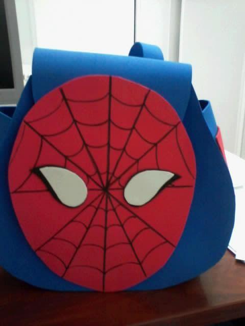 O Estaminé da Xé: Mochila homem Aranha