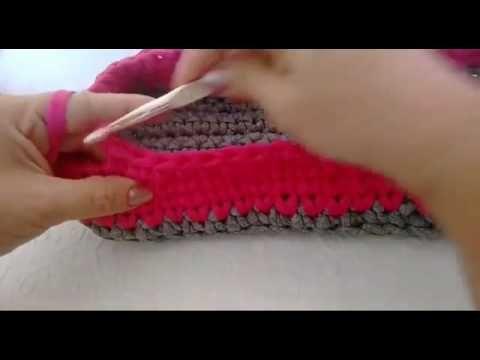 Crochetando com EuroRoma e Sandra Brum - Ponto Segredo - YouTube