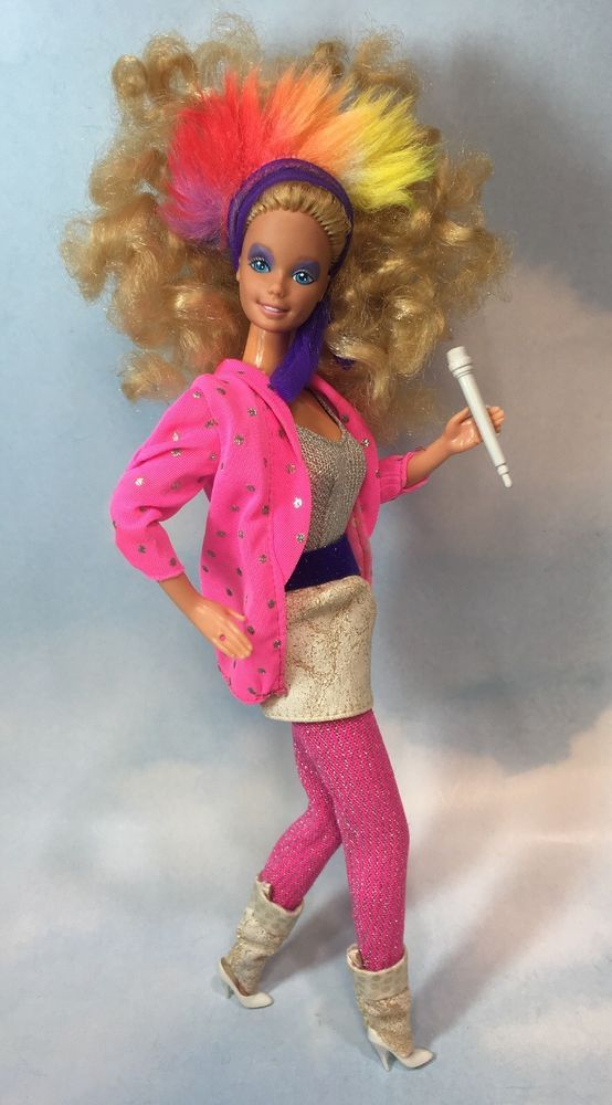 Barbie Doll 1985 BARBIE And The ROCKERS Clothes Mattel DollswithClothingAccessories