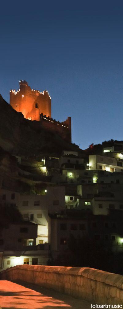 Castle of Alcala del Jucar, Albacete, Spain