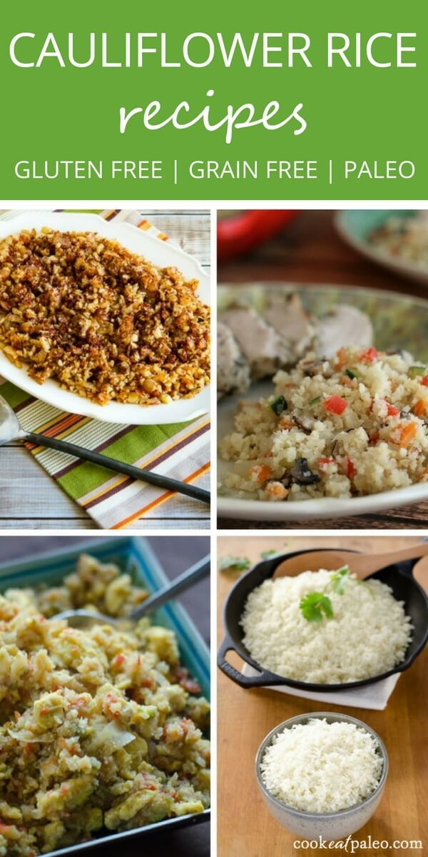 Cauliflower rice makes the perfect grain-free side dish for any meal. It's easy to make and takes less time to cook than traditional white rice. | Gluten-free, grain-free, low carb, keto, paleo recipes via @cookeatpaleo