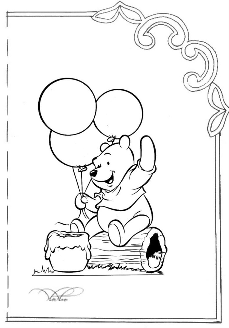 29 best Winnie The Pooh Coloring Page images on Pinterest