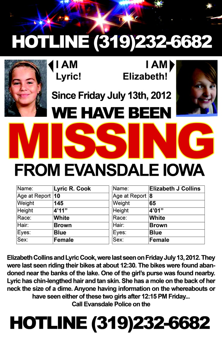 These girls are still missing. Please Repin! & Post to