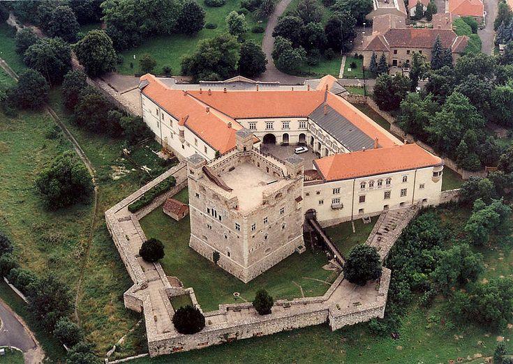 Sárospatak Castle, in Borsod-Abaúj-Zemplén, Hungary,